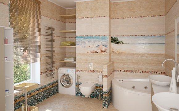Плитка для ванной Уралкерамика