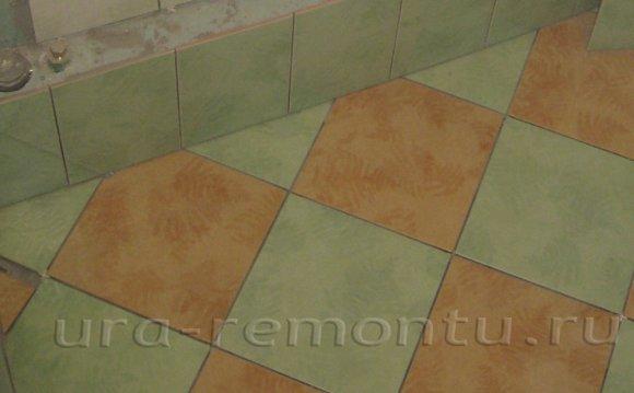 Как укладывать плитку на пол